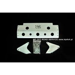 Osłona HD1 drążków przednich do Land Rover Defender aluminiowa