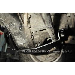 Osłona ślizgowa główki przedniego mostu do Land Rover Discovery II czarna