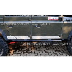 Progi boczne HD do Land Rover Defender 110