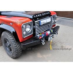 Zderzak przedni HD do Land Rover Defender - wersja dla aut z wysuniętą atrapą chłodnicy (nowsze Defendery)